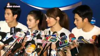 eng sub kimberley 2014 11 12 interview at vaseline event tik mark kim mew