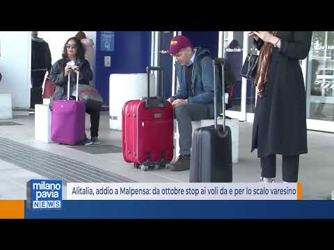 Alitalia, Addio A Malpensa: Da Ottobre Stop Ai Voli Da E Per Lo Scalo Varesino