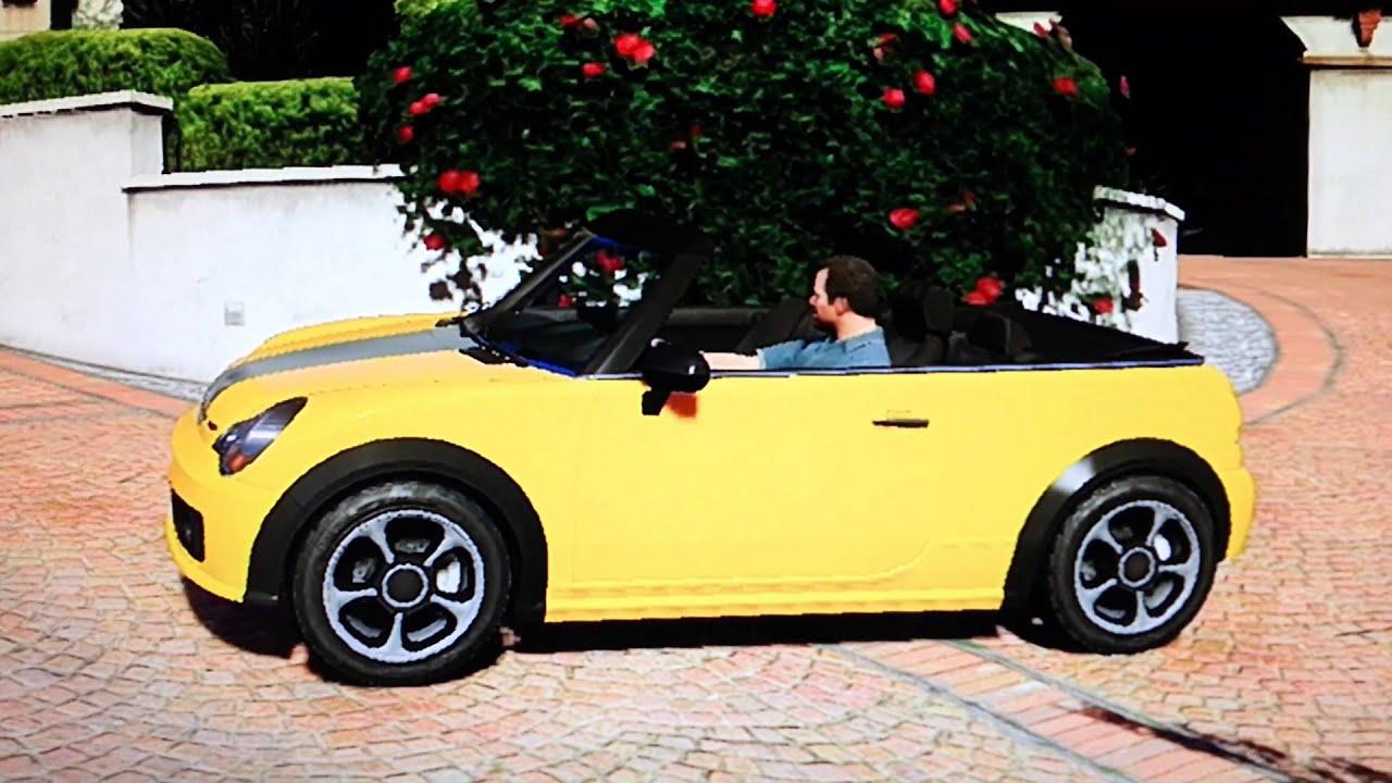 how to close convertible top gta 5