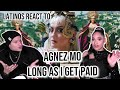 Latinos React To AGNEZ MO For The FIRST TIME - Long As I Get Paid (Official Music Video)  REACTION