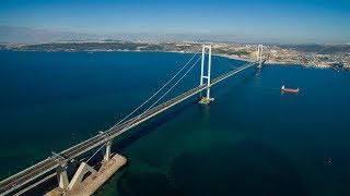 オスマン・ガーズィー橋(イズミット湾横断橋) 開通