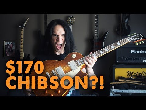 $170 CHIBSON Les Paul! - Demo / Review
