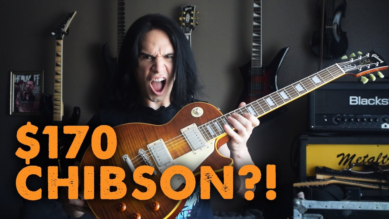 170 chibson les paul demo review youtube. Black Bedroom Furniture Sets. Home Design Ideas
