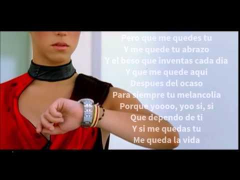 Shakira - Que Me Quedes Tu (Letra) mp3