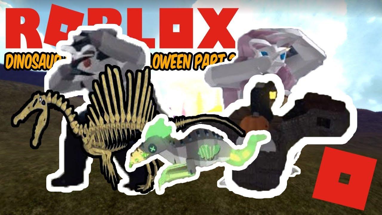 All Halloween Skins For Dinosaur Sim 2020 Roblox Dinosaur Simulator Halloween   PART 2 SKINS! There's still