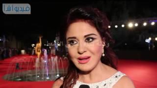 بالفيديو : مادلين طبر مهرجان القاهرة السينمائى مهرجان وطن والحضور واجب