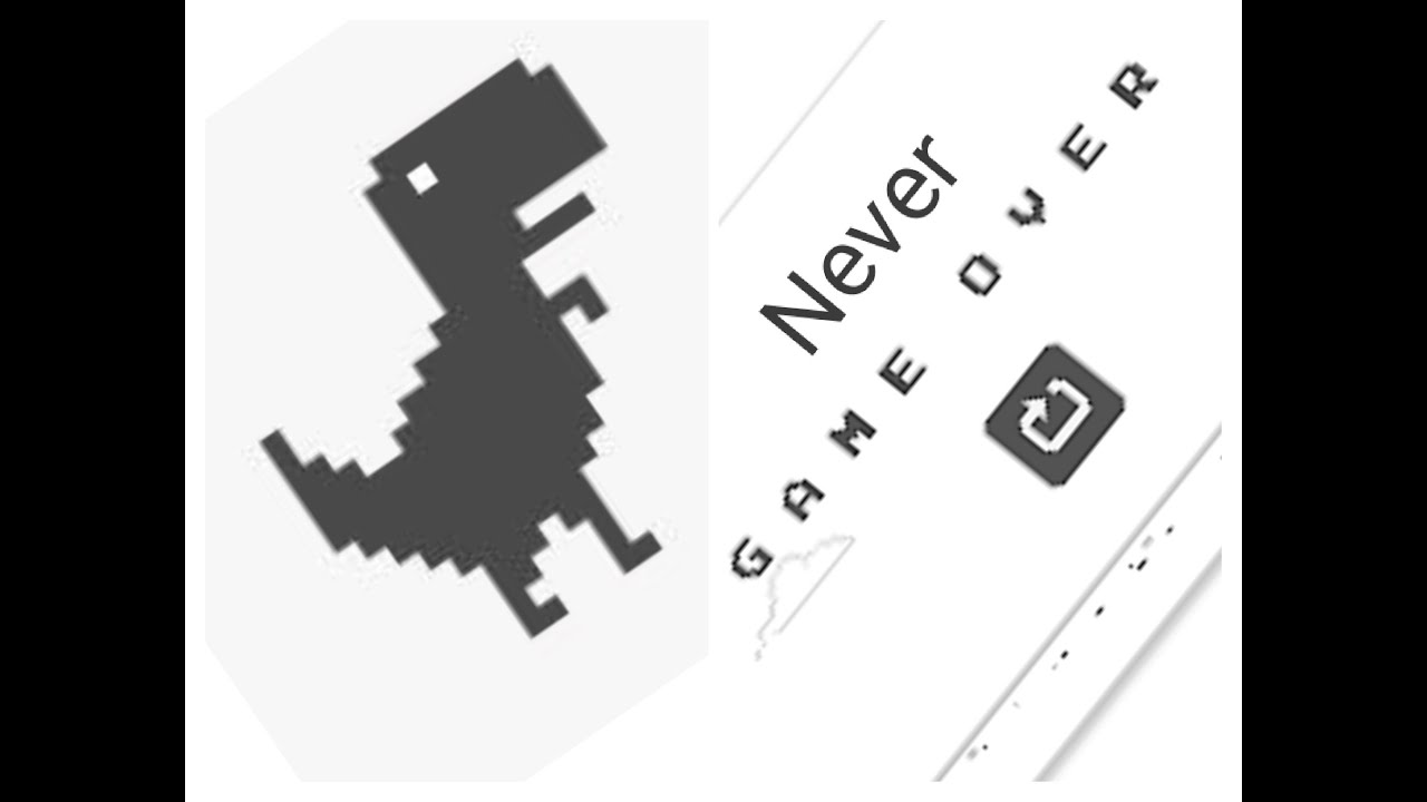 How to make t-rex(chrome dinosaur game) run automatically