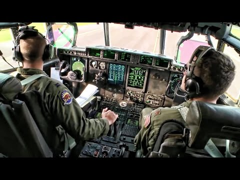 C-130 Hercules Troop Transport: Latvia To Germany
