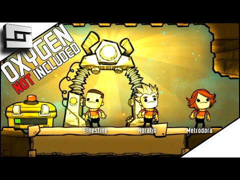 Oxygen Not Included - BEGINING MY COLONY! ( ONI Gameplay ) Part 1