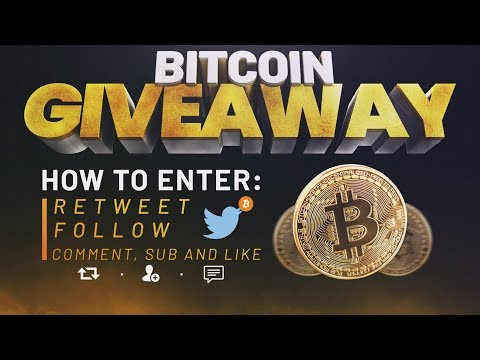 Twitter Bitcoin Giveaway Winner Announced!