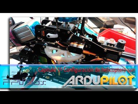 Configuración de helicóptero con ardupilot 1 - YouTube