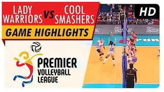 Lady Warriors vs Cool Smashers | Game Highlights | PVL Reinforced Conference | May 20, 2017