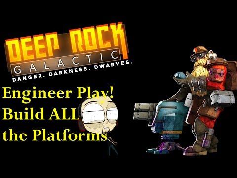 Deep Rock Galactic - Closed Alpha .4.0 Gameplay | Engineer Gameplay, Turrets!