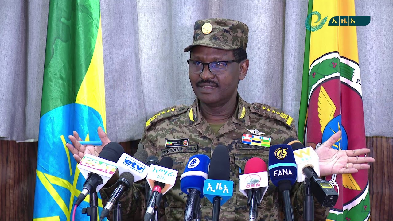 National Defense Force Scoring Victory in Law Enforcement Operation: General Birhanu Jula