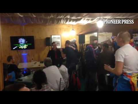 You ain't lived until seeing drunken Russian journalists karaoke the Beatles