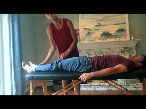 Neck Pain from Lifting - Live Treatment