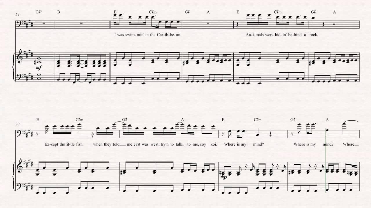 Pixies where is my mind nasıl çalınır? How to play the pixies.