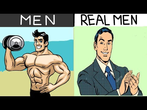 "5 SIGNS OF A ""REAL"" MAN (HINDI) - असली मर्द की 5 निशानिया VALENTINE SPECIAL"