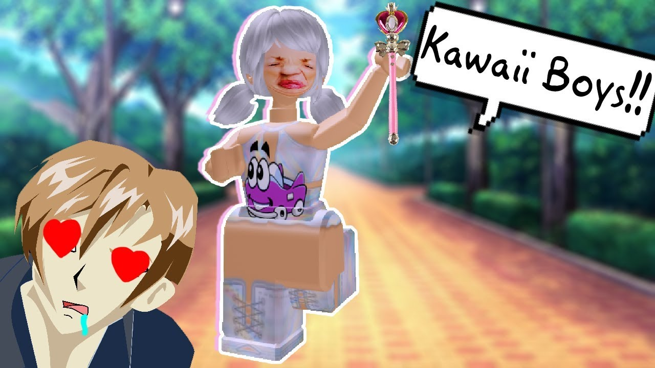The Kawaii Anime Girls In Roblox Roblox Royale High School Role