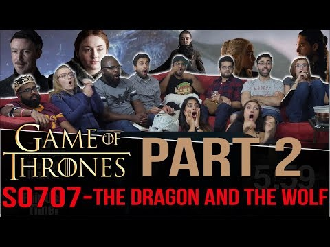 Game of Thrones - 7x7 The Dragon and The Wolf - Group Reaction [Part 2] Discussion!