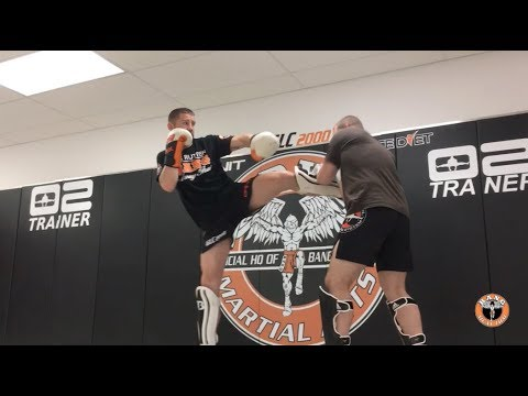 How to develop your transition between kicking & punching with the BMT Dutch Drill