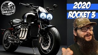 NEW 2020 Triumph Rocket 3 | Shadetree Surgeon's thoughts