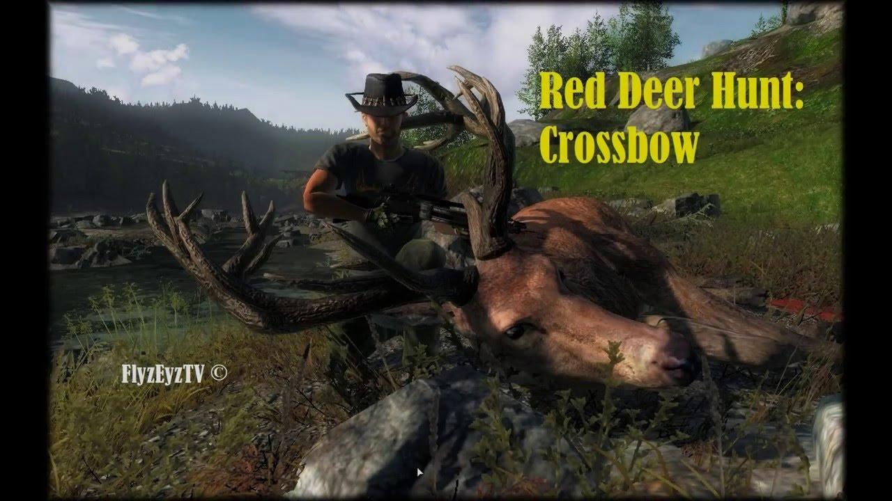 theHunter: Red Deer Reverse Crossbow Hunt