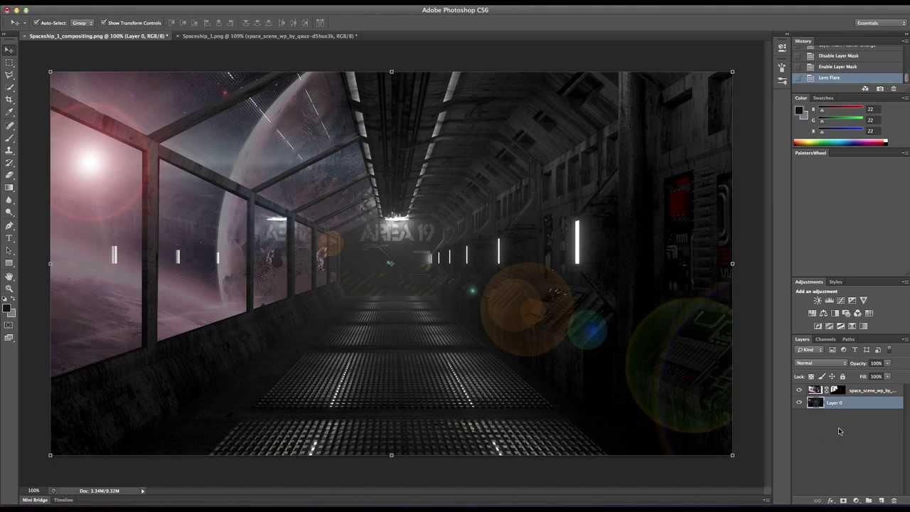 3d spatial science fiction blond slave - 1 7
