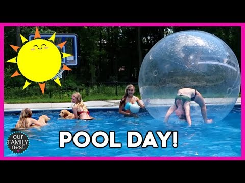 girls-day!-pool-party-fun-&-getting-ready-for-a-dinner-party!