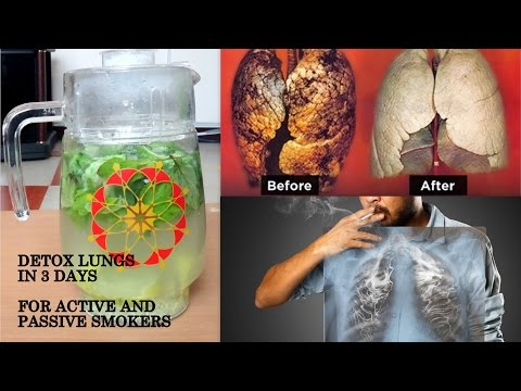 DETOX SMOKERS LUNGS HOW TO CLEAN LUNGS AFTER SMOKING NATURALLY HOME DETOX DRINK SMOKERS & EX SMOKERS