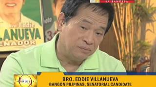 Harapan sa Bandila: Cynthia Villar, Eddie Villanueva talk divorce