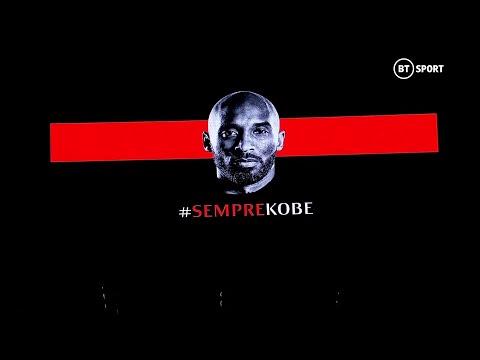 AC Milan Tribute To Kobe Bryant Before Their Game