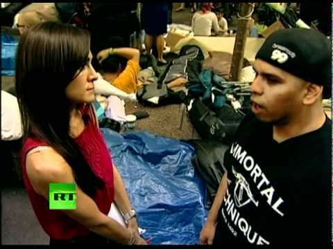 "Immortal Technique at Occupy Wall Street: ""We are here to stay"""