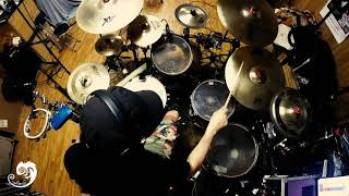 Standing in the dark (excerpt) - Tommy Fiammenghi Band  (Drum Cover)