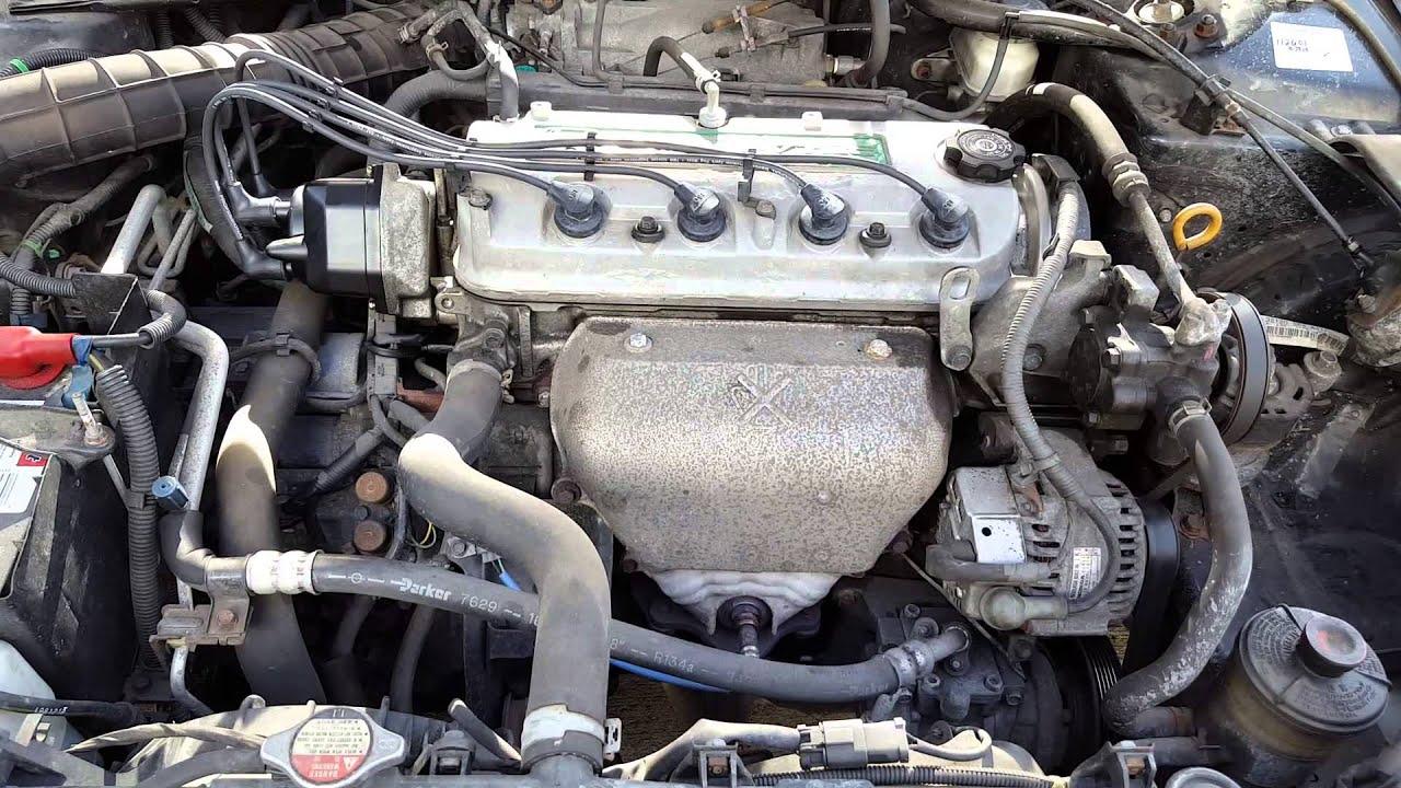2000 Honda Accord Timing Belt Diagram