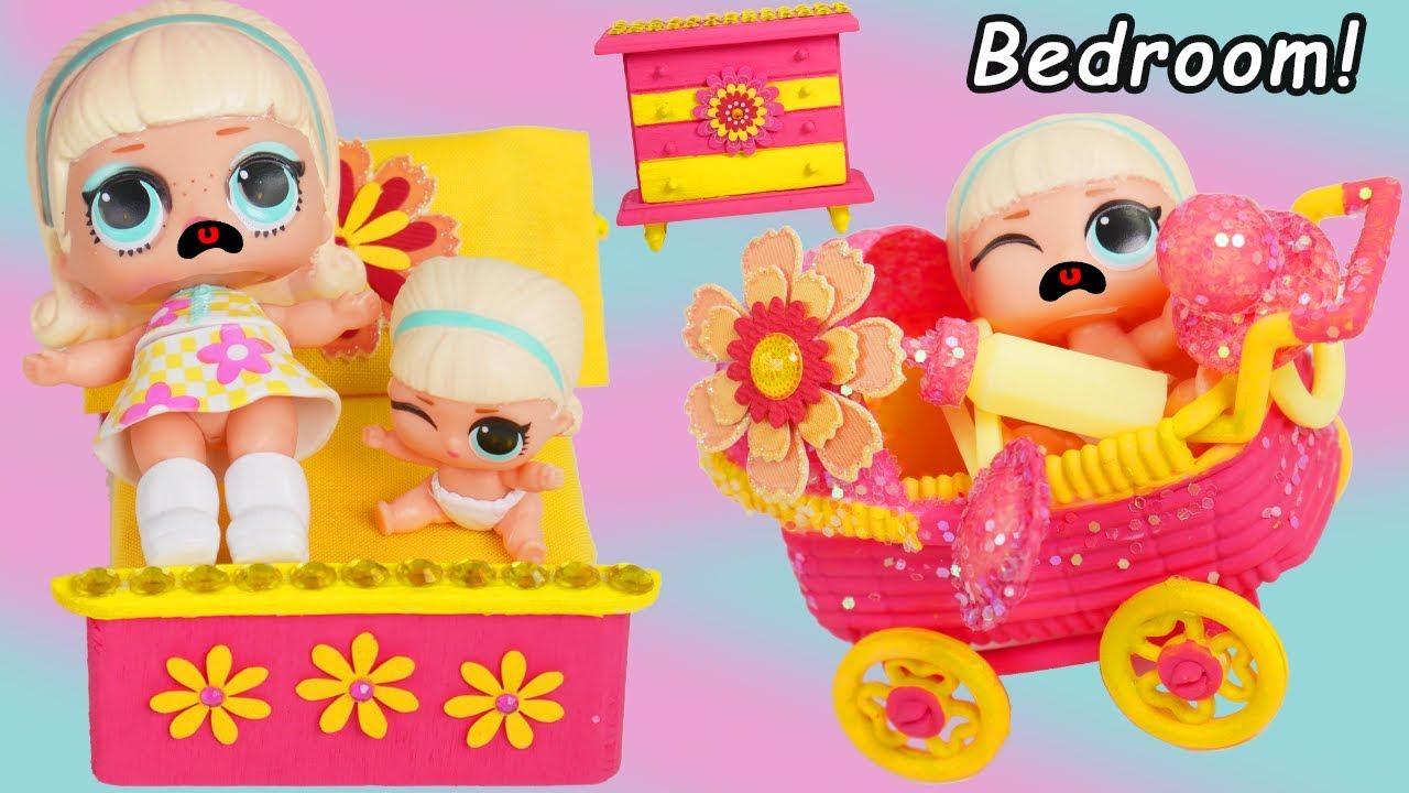 Custom Bedroom For Exclusive Lol Surprise Dolls Hairgoals
