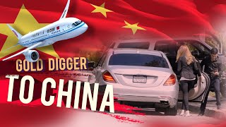 We Sent a GOLD DIGGER to CHINA ✈️ 🇨🇳 😂 SHE WAS PISSED!