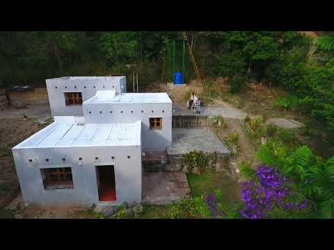 Tierras Realty: Se Vende Casa- Earth Bag Home For Sale in Nature Reserve Rumi Wilco