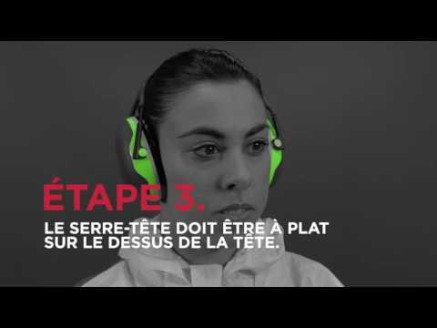 Comment utiliser des protecteurs d'oreilles?