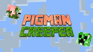 Monster School: BEST MONTAGE PIGMAN AND CREEPER -  MINECRAFT ANIMATION - Tungpo Craft