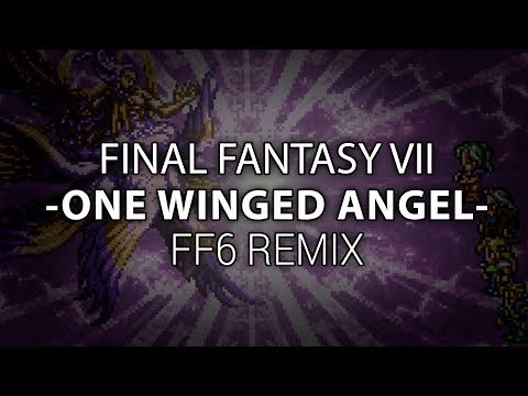 Sephiroth in Final Fantasy 6 ? [One Winged Angel - FF6 REMIX by mWIND] ♪
