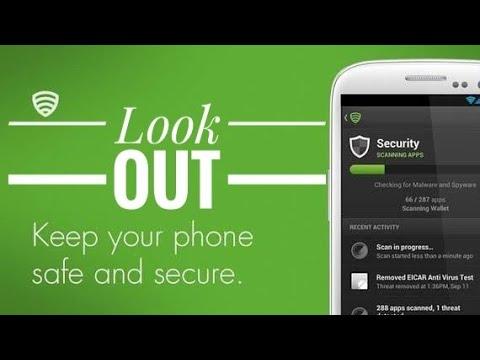 como usar Lookout Antivirus - localizador