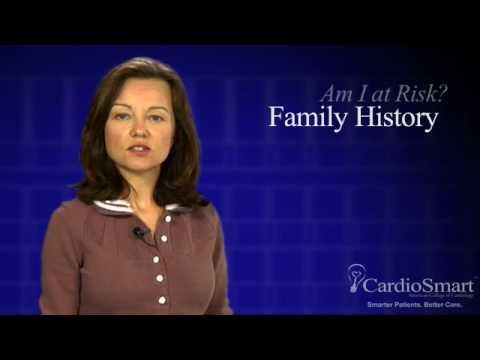 Risk Factors for Heart Disease~Family History