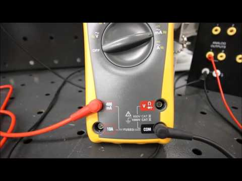 How to measure a 4 to 20 mA Current Signal (Ultrasonic Level Lab 3)
