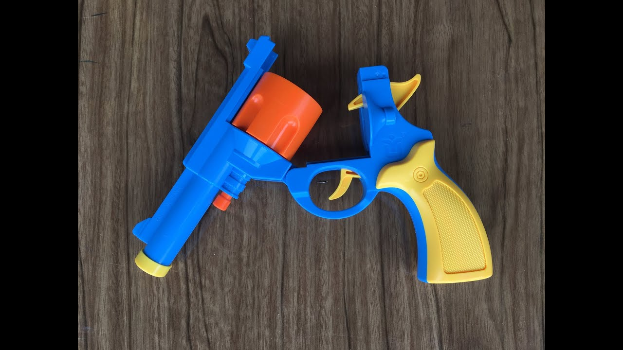 Whats Inside The 45 Acp Rubber Bullet Revolver Toy Gun