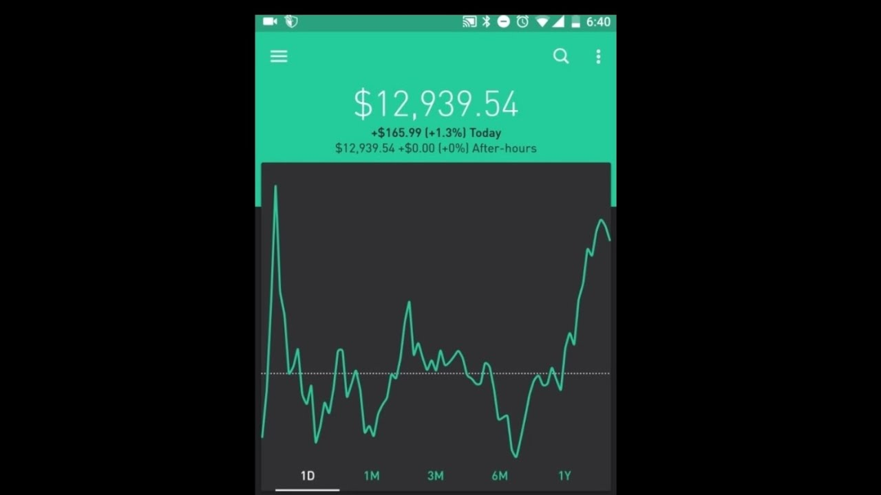 ROBINHOOD APP│ Instant vs Cash Account