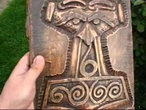 Viking Woodcarving Youtube