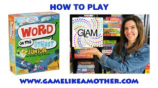 How to Play Word on the Street Junior