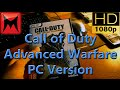 Call of Duty Advanced Warfare PC Steam Retail Version Unboxing and First Impressions Review Video