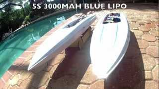 ProBoat Shockwave / Impulse 26 Brushless vs. Stock This is what came before the Shockwave 26
